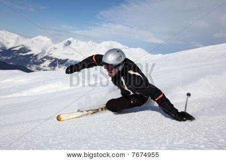 Fun At Skiing