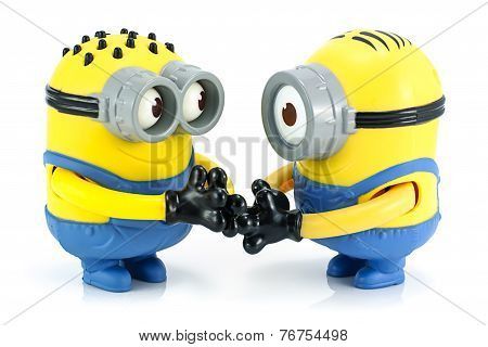Minion Check Hand Toy Character From Despicable Me