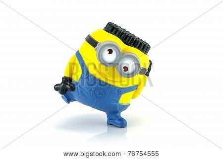 Minion Jerry Breakdancing Toy Character