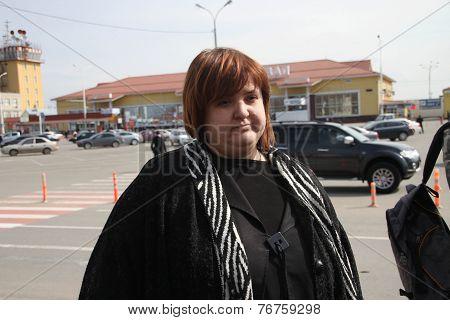 Lawyer Violetta Volkova At The Airport Of Krasnodar