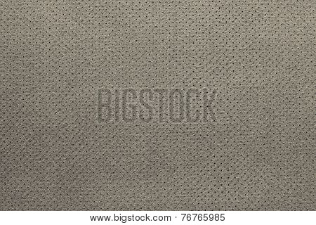 Texture Of Leather With A Wrong Side Beige Color
