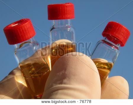 Science - 3 Vials