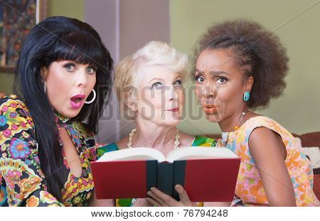 Women Reading A Romance Novel