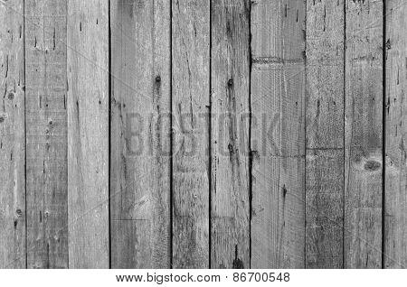 Grey wood planks