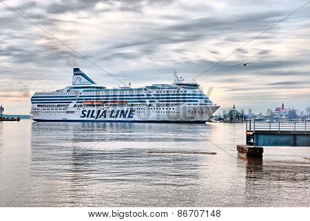 Helsinki. Finland. The Silja Line Ferry