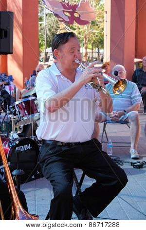 Gary Church of 52nd Street Jazz Band