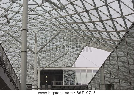Architectural Detail Of Milano Fiera Roofing