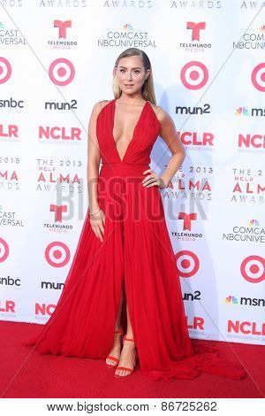 LOS ANGELES - SEP 27:  Alexa Vega at the 2013 ALMA Awards - Arrivals at Pasadena Civic Auditorium on September 27, 2013 in Pasadena, CA