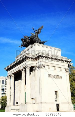 Quadriga on Wellington Arch