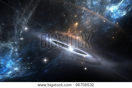 Supernova Explosion For Use With Projects On Science, Astronomy, Universe And Education
