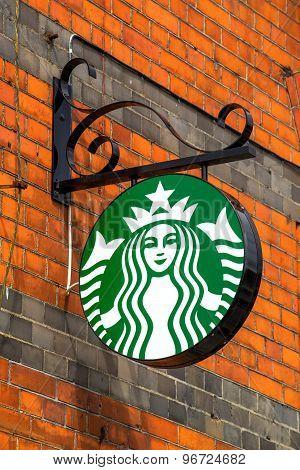 Starbucks Coffee Street Sign