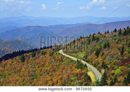 Road Through the Smoky Mountains