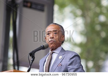 NAN's Rev Al Sharpton