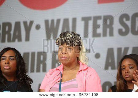 Gwen Carr, mother of Eric Garner