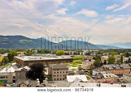 Nonntal District In Salzburg