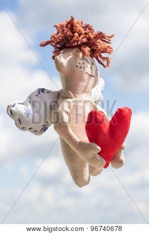 Flying Happy Angel.
