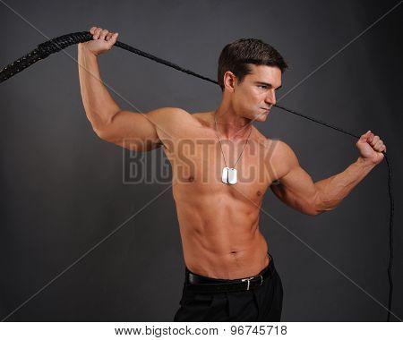 muscular rebel