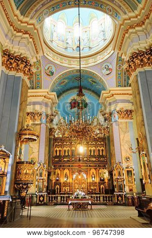 Church Of The Transfiguration In Lviv