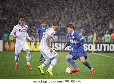 Uefa Europa League Semifinal Game Dnipro Vs Napoli