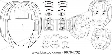 Set To Create A Face Charts