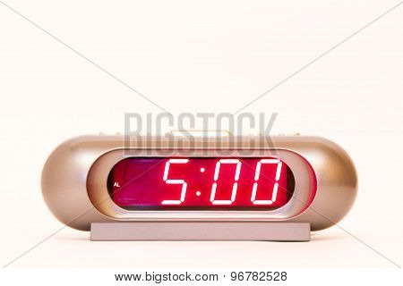 Digital Watch 5:00