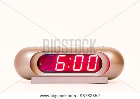 Digital Watch 6:00