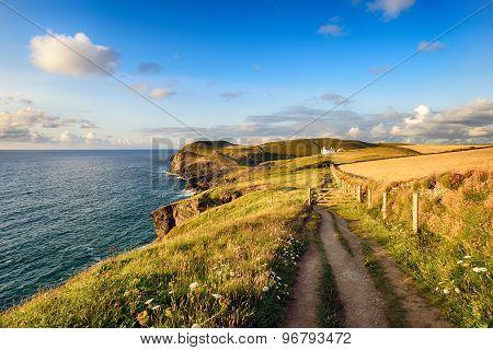 Doyden Point On The South West Coast Path