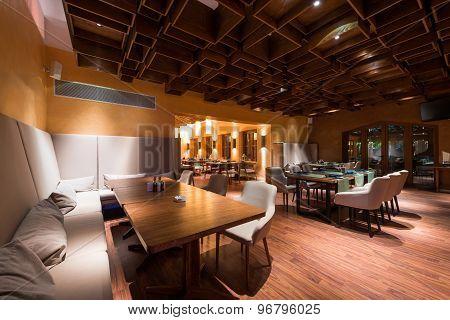 Fashion Stylish Restaurant Interior