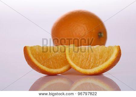 One Orange And Lobules