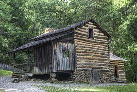 Elijah Oliver Log Cabin, Great Smoky Mountains National Park
