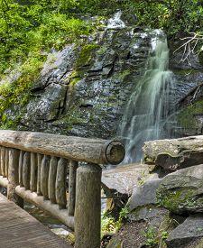 Juney Whank Falls In North Carolina