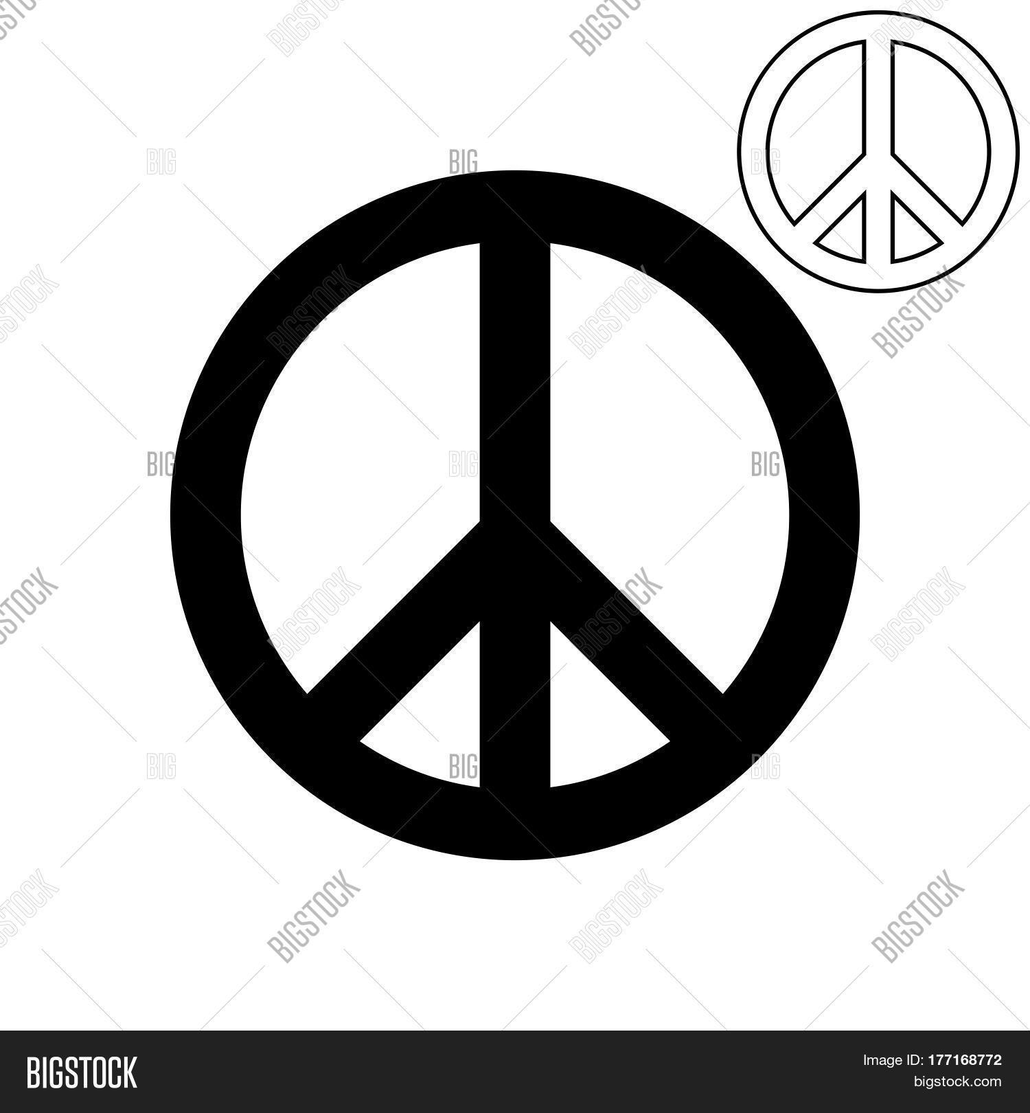 Symbol Peace Pigeon Vector Photo Free Trial Bigstock