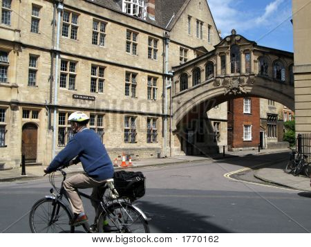 Oxford University, Bridge Of Sighs
