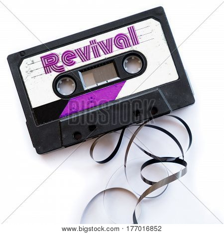 revival disco music musical genres audio tape label