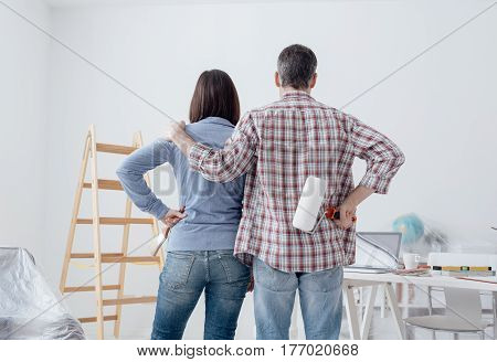 Couple Doing A Home Makeover