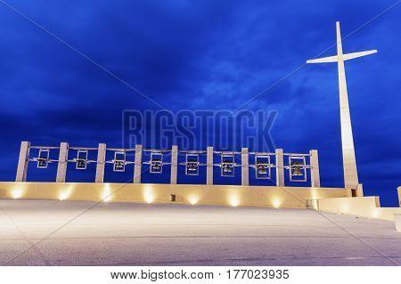 Padre Pio Pilgrimage Church. San Giovanni Rotondo Apulia Italy.
