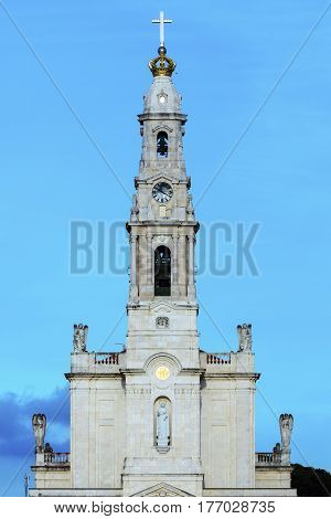 Sanctuary of Fatima. Fatima Centro Region Portugal.