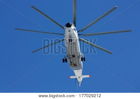 Transport helicopter Mi-26 Rostov-on-Don Russia February 18 2011