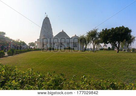 Birla Mandir Laxmi Narayan Is A Hindu Temple
