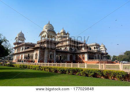 Albert Hall Museum In Jaipur India