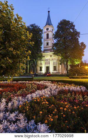 Evangelical Church in Wisla. Wisla Slaskie Poland.