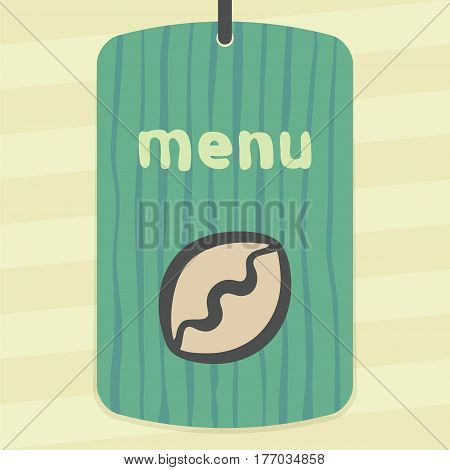 Vector outline pie or dumpling food icon on label with hand drawn striped background. Elements for mobile concepts and web apps. Modern infographic logo and pictogram.