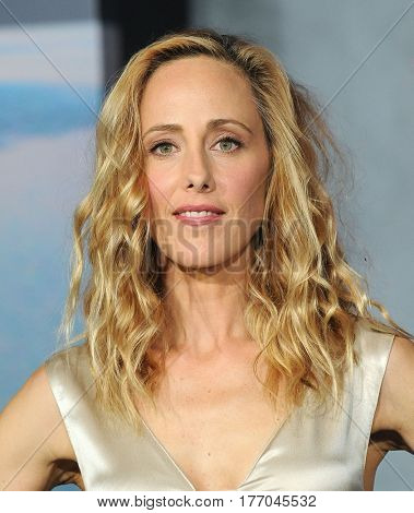 LOS ANGELES - MAR 08:  Kim Raver arrives for the