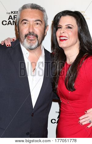 LOS ANGELES - MAR 15:  Jon Cassar, Keri Selig at the