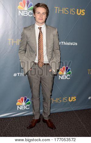LOS ANGELES - MAR 14:  Logan Shroyer at the