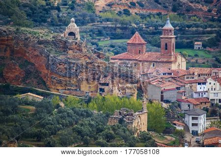 Cuevas De Canart, Teruel, Aragon, Spain