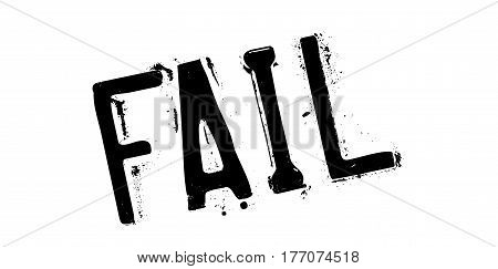 Fail rubber stamp. Grunge design with dust scratches. Effects can be easily removed for a clean, crisp look. Color is easily changed.