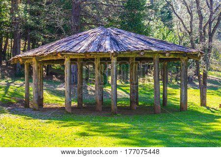 Circular Open Air American Indian Meeting Place