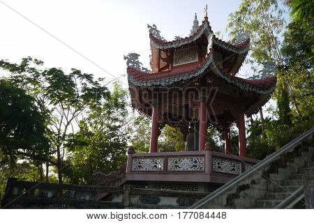PAGODA -- a Buddhist memorial construction and storage of relics