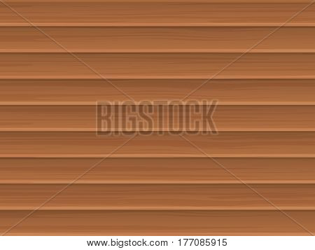 Wooden blinds jalousie or fence. Vector background.